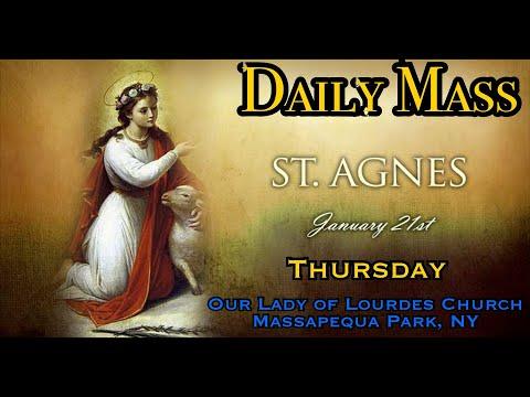 Daily Mass - Thursday, January 21, 2021 - Fr. Andiy Egargo, Our Lady of Lourdes Church.