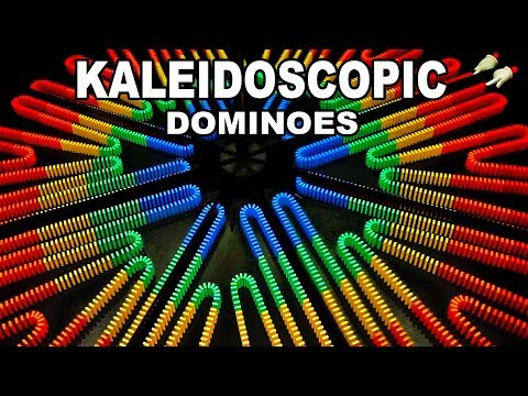 Kaleidoscopic Dominoes Look Cool