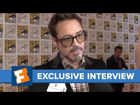 Fandango -- Exclusive: Robert Downey Jr. -- Iron Man 3 -- Comic-Con 2012 Interview