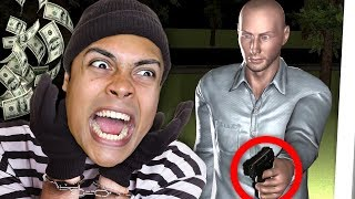 he came BACK HOME when trying to STEAL FROM HIS HOUSE !!! (Sneak Thief)
