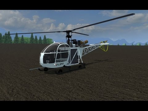 Alouette II helicopter v2.0