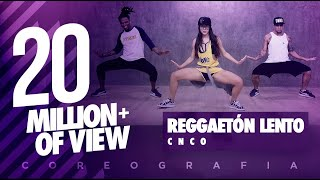 Video Reggaetón Lento - CNCO - Coreografía |  FitDance Life MP3, 3GP, MP4, WEBM, AVI, FLV November 2018