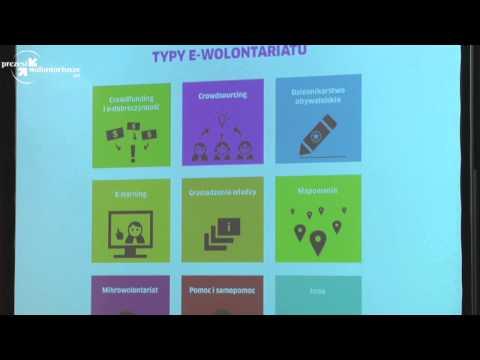 Mini wykład o e-wolontariacie - Konferencja 2014