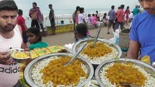 Video Breakfast with Muri Ghugni | Street Food Digha Sea Beach West Bengal MP3, 3GP, MP4, WEBM, AVI, FLV April 2019