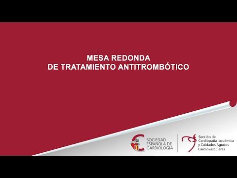 Mesa redonda sobre tratamiento antitrombótico