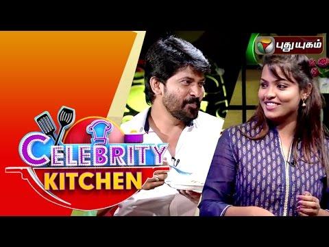 Actors Aegavalli & Ferozkhan in Celebrity Kitchen | 28/02/2016 | Puthuyugam TV