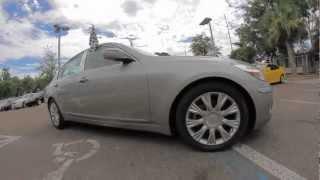Autoline's 2010 Hyundai Genesis 3.8 Walk Around Review Test Drive