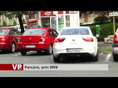 Parcare, prin SMS