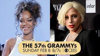Rihanna&Lady Gaga 2015 Grammy Performers!
