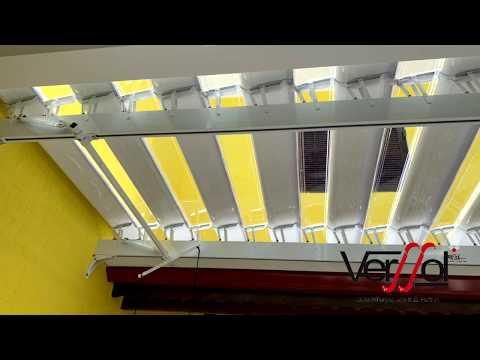 Verssol - Projeto Obras Grandes | Verssol - Cobertura Abre e Fecha -  Policarbonato - Toldos - Brise Articulado