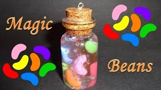 How to Make a Miniature Bottle Charm: Magic Beans - YouTube