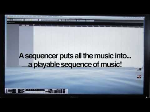 Computer Music for Beginners: What is a Sequencer? (Cubase/Logic/Ableton/etc)
