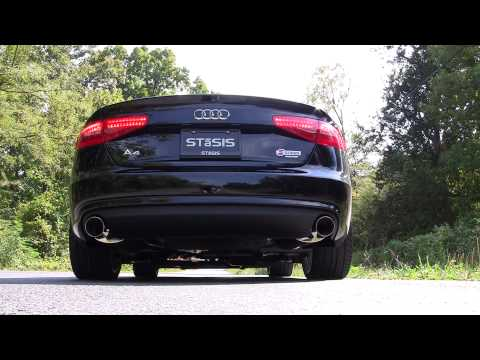 Video STaSIS Signature Series 2013 B8 A4 2.0T Exhaust System