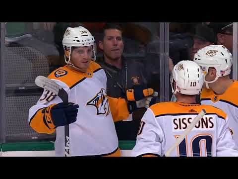 Video: Nashville Predators vs Dallas Stars | NHL | NOV-10-2018 | 15:00 EST