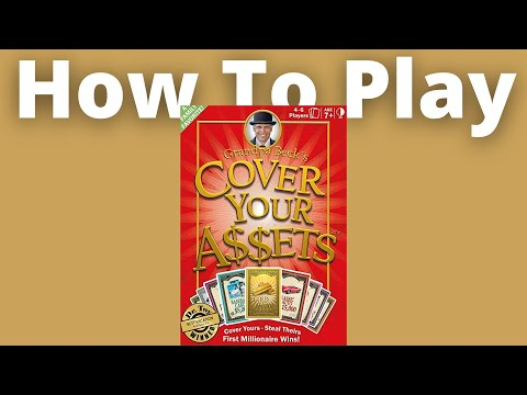 Cover Your Assets - How to Play | Rules & Instructions