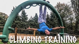Training For Climbing Without A Gym by Matt Groom