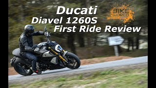 2. 2019 Ducati Diavel 1260S First Ride Review (4K)