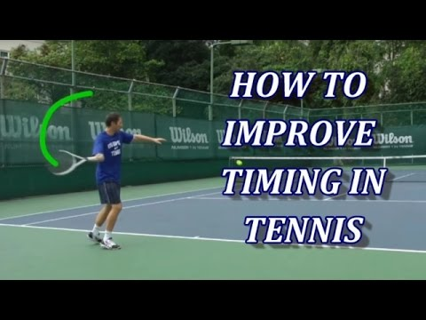 3 Drills To Improve Timing in Tennis