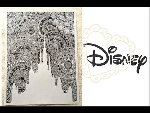 Le château Disney Géant en MANDALA !!