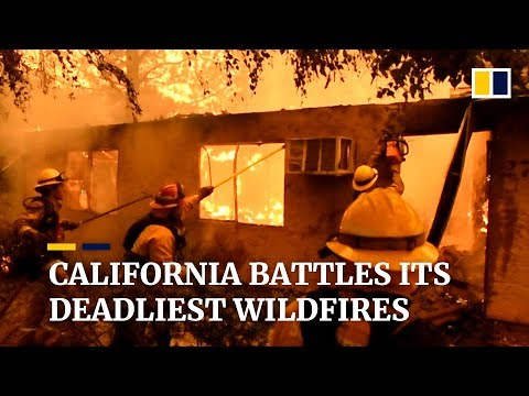Paradise lost: Southern California battles deadliest wildfires