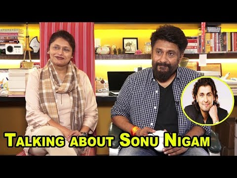 "Pallavi Joshi & Vivek Agnihotri Talks About Sonu Nigam As a Lead Singer For Show "" BHARAT KI BAAT """
