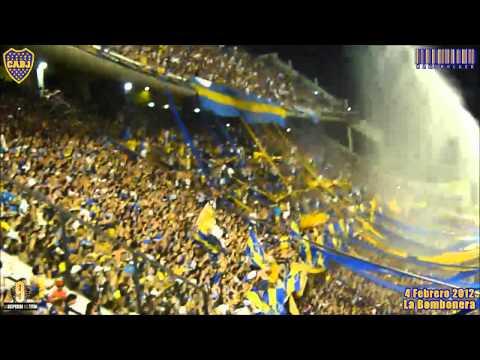 LA 12 EN LA DESPEDIDA DEL TITAN · LA BOMBONERA · 4 FEBRERO 2012 - La 12 - Boca Juniors - Argentina - América del Sur