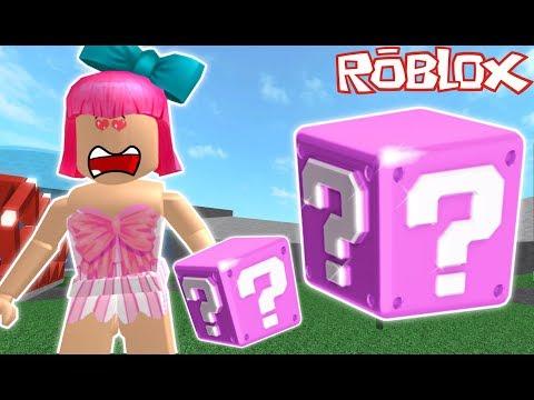 Roblox: PINK LUCKY BLOCK CHALLENGE! (видео)