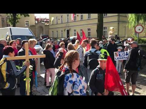 Wideo1: Pielgrzymi wyruszyli na Jasną Górę
