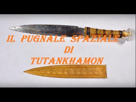 il pugnale di tutankhamon - metallo di origine aliena