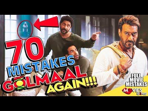 (70 Mistakes) In GOLMAAL AGAIN - Plenty Mistakes In Golmaal Again Full Movie