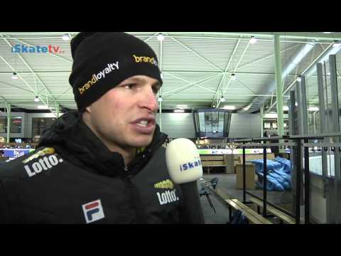 Sven Kramer 2e op de 5 km KNSB Cup