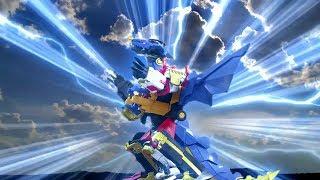 Power Ranger Ninja Steel  Batalla Megazord [Formación Dragon] - Capitulo 4