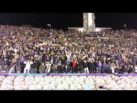 Hinchada Defensor Sporting - Copa Libertadores 2014 - La Banda Marley - Defensor
