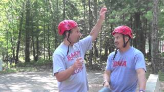 this is my first trick shot edition i did it with airrose22 this time we go to a camp called camp ojibwa we went there because my dads grampa started it and ...