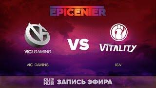 Vici Gaming vs IG.V, EPICENTER CN Quals, game 2 [Lex]