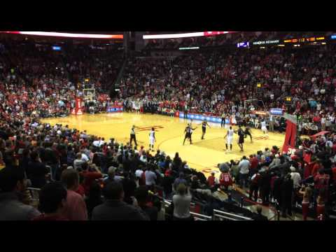 Fan View: Harden's game-tying three and crowd reaction