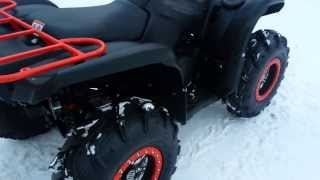 9. 2014 yamaha grizzly 700 special edition