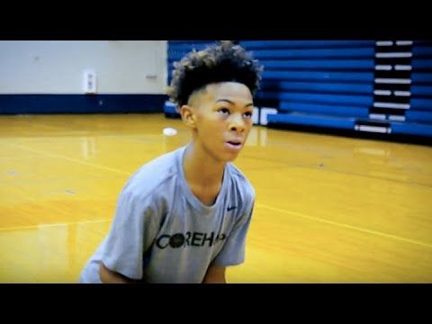 Skyy Clark Top 7th Grader!! | HandleLife Training Session