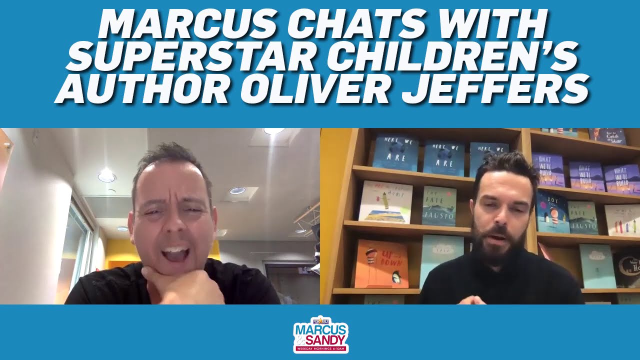 Marcus Chats With Best-Selling Children's Author Oliver Jeffers