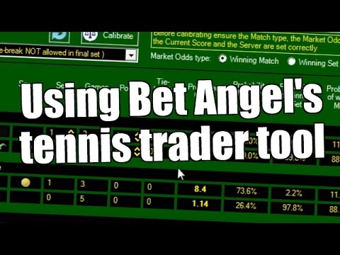 Using Bet Angel's Tennis Trader