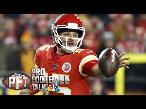 Video: Patrick Mahomes faces tough test against Seattle Seahawks | Pro Football Talk | NBC Sports