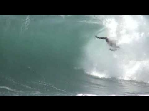 Body Boarder Wipes Out