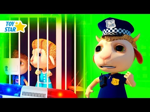 New 3D Cartoon For Kids ¦ Dolly And Friends ¦ Kids Police Jail Playhouse Toy #83