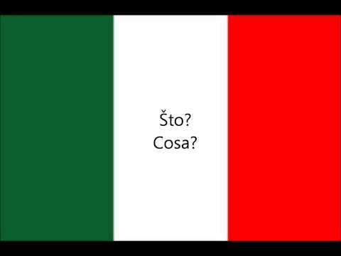 150 Talijanski Fraze Za Početnike