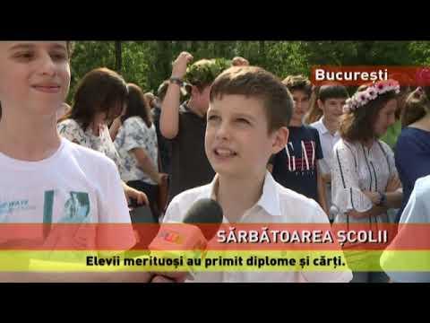 """Serbare de final de an școlar, la Colegiul """"Grigore Moisil"""" din București"""