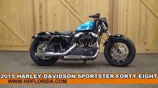 2. New 2015 Harley Davidson Sportster Forty-Eight Motorcycles for sale in New Color
