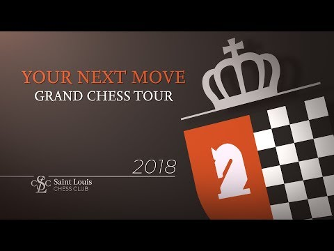2018 Your Next Move Grand Chess Tour: Day 5 (видео)