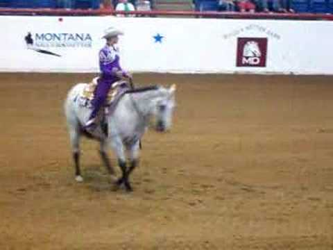 AQHA World horsemanship pattern