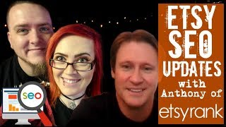 Etsy SEO Holiday makeover with Anthony Wolf of EtsyRank- Live Workshop