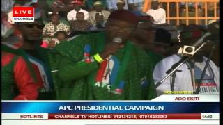 APC Presidential Campaign In Ado Ekiti Part 3